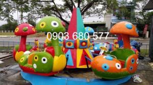 Cung cấp đu quay, mâm xoay cho trường mầm non, công viên, khu vui chơi, sân chơi trẻ em