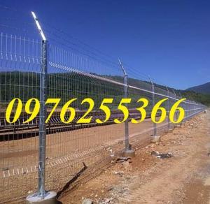Hàng rào lưới thép, hàng rào mạ kẽm, sơn tĩnh điện, hàng rào nhà kho