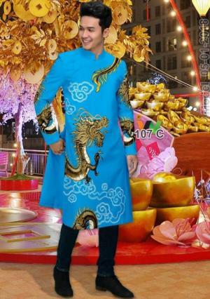 Vải Áo dài nam cách tân vải cứng, vải áo dài đẹp sang trọng quý phái
