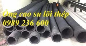 Ống cao su bố thép, ống cao su mành thép giá rẻ tại Hà Nội