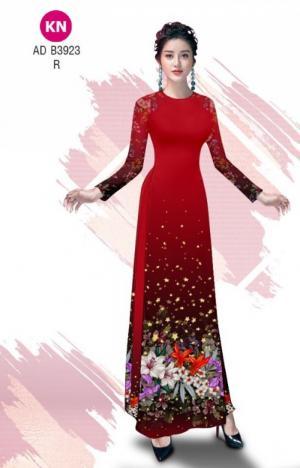 Vải áo dài độc đáo cho ngày tết 2020 của vải áo dài Kim ngọc ADKN B3923