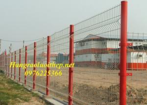 Lưới thép hàn Hàng rào mạ kẽm Hàng rào sơn tĩnh điện