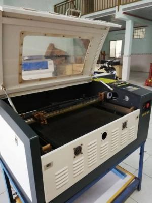 Bán máy laser 6040 60W mới nguyên thùng nhập khẩu bảo hành 12 tháng
