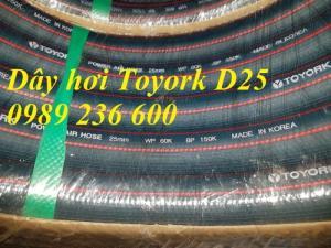 Dây hơi Toyork D6.5, D8, D9.5, D13, D16,D19, D25 hàng sẵn kho
