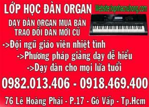 Nhận dạy đàn organ cho mọi lứa tuổi tại lớp nhạc Nụ Hồng