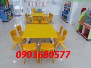 Chuyên cung cấp bàn ghế nhựa mầm non giá rẻ, chất lượng nhất