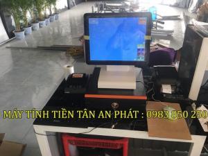 Bộ máy tính tiền cho quán trà chanh - Trà sữa tại Bắc Ninh- Bắc Giang