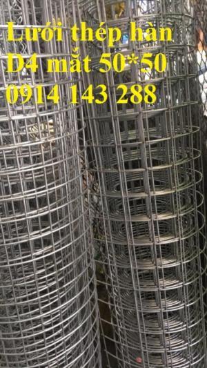Lưới thép hàn cường lực D4(50*50) chất lượng cao - Hàng có sẵn