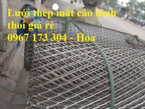 Lưới thép dập giãn 2mm mắt 20*40mm chất lượng cao hàng có sẵn