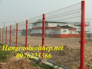 Lưới hàn mạ kẽm - Lưới hàn sơn tĩnh điện D2, D3, D4, D5