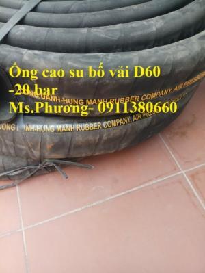 Cung cấp ống cao su bố vải D60- 20 bar - Công ty Nhật Minh Hiếu