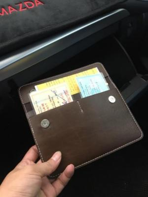xả kho 1000 ví đựng giấy tờ xe ô tô