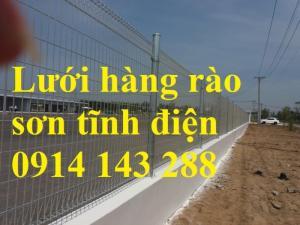 Hàng rào lưới thép sơn tĩnh điện chất lượng cao