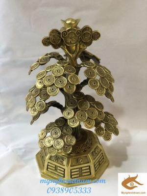 Quà tặng tết canh tý 2020,cây tiền chiêu tài lộc
