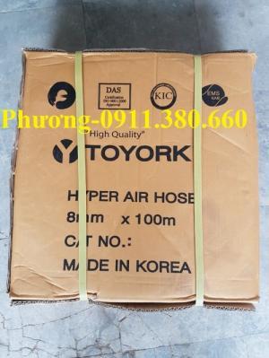 Ống dây hơi Toyork D8x15 - tiêu chuẩn Hàn Quốc chất lượng cao