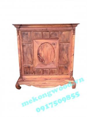 Tủ thờ gỗ cẩm - nết đẹp cổ truyền