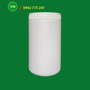 Hủ nhựa, hũ nhựa đựng bột, hạt đậu mần, hũ nhựa 500g, hũ nhựa 1kg