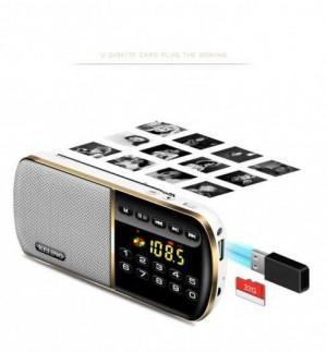 Loa nghe nhạc FM radio Keling F8 cao cấp