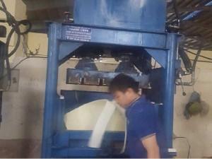 Máy ép kiện vải, kiện mút xốp, phế liệu