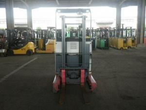 Xe Nâng Điện Đứng Lái KOMATSU 1500kg 1 tấn rưỡi xe nâng điện cũ của Nhật Bản