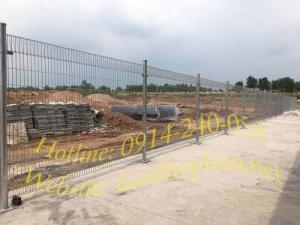 Vách ngăn lưới thép nhà xưởng; Hàng rào mạ kẽm Toàn Tâm; L/h: 0914240058