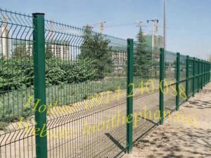 lưới thép làm hàng rào mạ kẽm