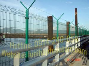 Hàng rào lưới thép hàn Toàn Tâm; Sản xuất trực tiếp không qua trung gian