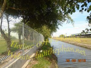 Hàng rào lưới thép; Hàng rào mạ kẽm; Lưới thép hàn Công ty TNHH Thép XD Và Lưới Hàn Toàn Tâm