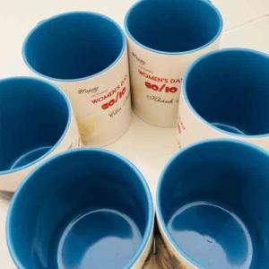LY LÒNG MÀU - in logo doanh nghiệp -quà tặng giá rẻ -con hiu hồng