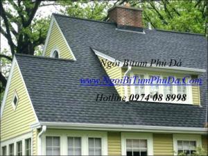 Ngói dán mái bê tông chống thấm