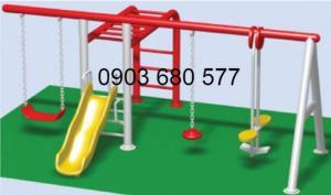 Chuyên sản xuất, cung cấp xích đu liên hoàn cho trường mầm non, công viên, sân chơi