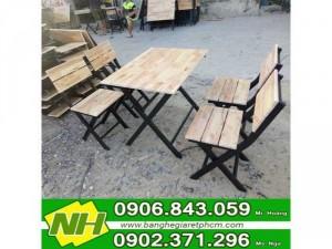 bộ bàn ghế gỗ nội thất nguyễn hoàng mẫu chân sắt