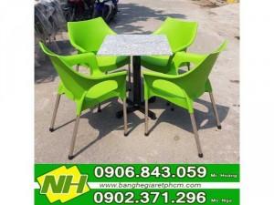 bàn ghế nhựa cafe Nội thất nguyễn hoàng