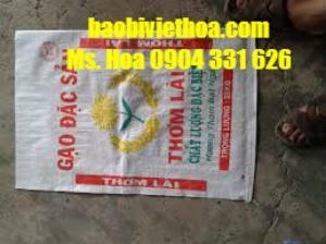 Cung cấp bao pp dệt đựng lúa gạo giá rẻ