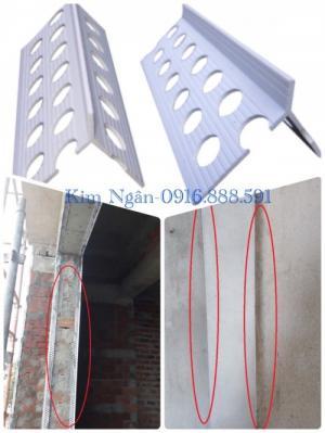 Nẹp nhựa tô góc - Nẹp tô thẳng góc - Nẹp nhựa tô trát góc dương - Nẹp góc nhựa - Nẹp nhựa - Nẹp hoàn thiện