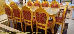15 Mẫu bàn ghế ăn tân cổ điển đẹp xuất sắc, đáng sở hữu nhất tại gò vấp, Tân Bình, Bình Thạnh