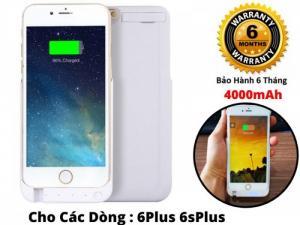 Ốp Kiêm Pin Sạc Dự Phòng IPhone 6 Plus 4000mAh JLW-6PCE