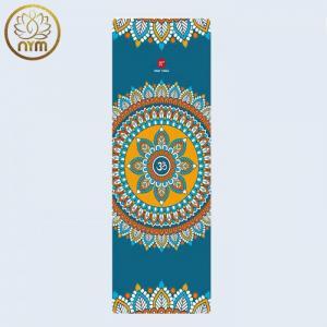 Thảm Du Lịch Cao Cấp PIDO 1,5 mm_Xanh Mandala