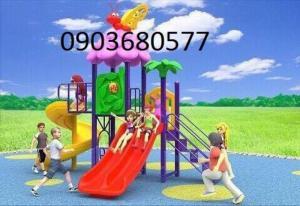 Cần bán cầu trượt vận động cho trẻ em mầm non giá cực SỐC