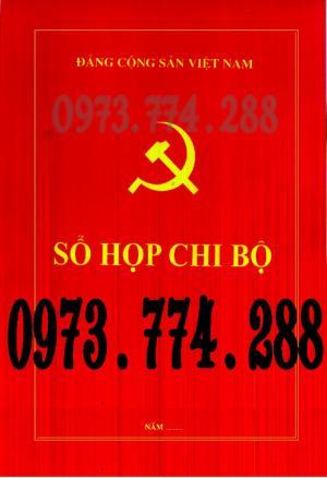 Bán Sổ họp chi bộ giá rẻ chất lượng uy tín tại Hà Nội