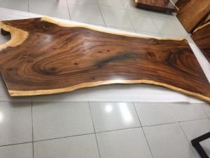 Mặt bàn gỗ me tây nguyên tấm dài 2,3m rộng 1m-75cm-1m