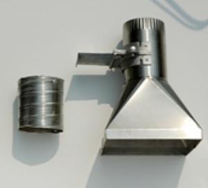Bộ chụp hút inox cho máy AAS - Mới 100%