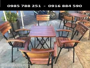 bàn ghế pha si banh có tay bốn chân làm tại xưởng sản xuất HOANG MINH 77236