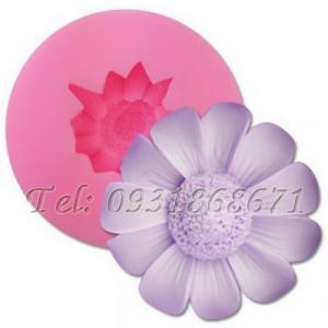 Khuôn rau câu silicon hoa giã quỳ - Mã số 125