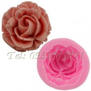 Khuôn rau câu silicon hoa hồng - Mã số 20N