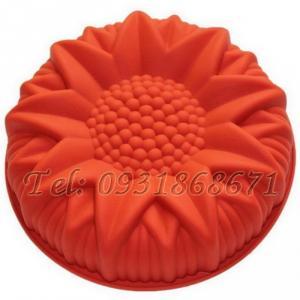 Khuôn rau câu silicon hoa hướng dương - Mã số 175