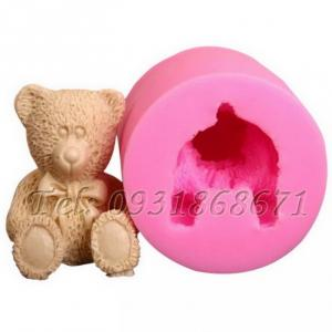 Khuôn rau câu silicon gấu teddy - Mã số 83