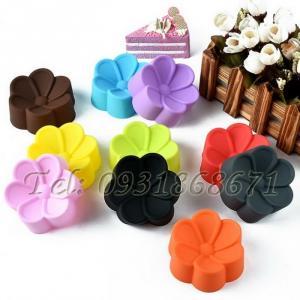 Bộ 10 khuôn silicon hoa mai - Mã số 89 - Size 3 cm