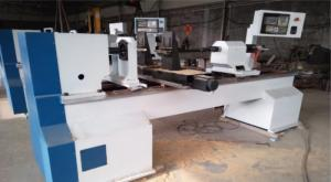 Báo giá máy tiện gỗ CNC 1 đầu và 2 đầu tự...