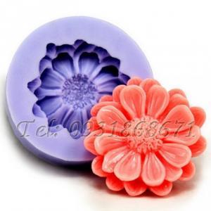 Khuôn rau câu silicon hoa cúc đơn - Mã số 19